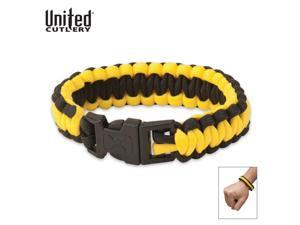United Cutlery ELITE FORCES SURVIVAL BRACELET YELLOW UC2812