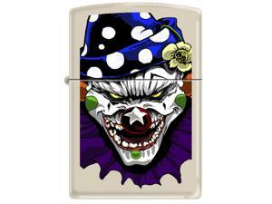 Zippo CI 000011 - Evil Clown-Matte Windproof Pocket Lighter 216CI000011