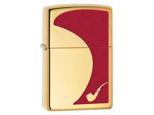 Zippo PIPE High Polish Brass 28322 Windproof Pocket Lighter 254BCI006244