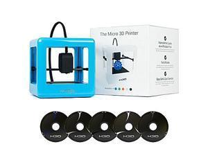 M3D Micro 3D Printer w/ 5 Spools of Filament - Blue