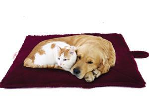 Thermal Pet Mat and Bed - Snuggly Non-Electric Heated Pad -Thermo-Reflective Core - Cozy Self Warming for Cats Dogs and Pets - High Quality - Portable, Lightweight, Soft Extra Comfortable & Washable