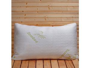 Bamboo Memory Foam Queen Size Pillow