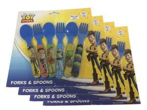 4 Pack Spoon and Fork Set