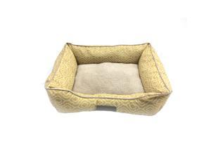 Deluxe Printed Ultra Soft Hypoallergenic Comfy Pooch Pet Bed