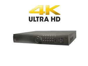 LTS LTN8916 4K HDMI 3840 x 2160 16CH 160Mbps Up to 12 Megapixels ONVIF NVR NO HARD DRIVE