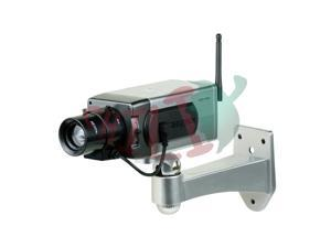 LTS DUM-101E Dummy Bullet Camera with Blinking Red LED and motion detection sensor Plastic