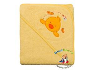 "BlueberryShop Embroidered WARM HOODED Bath Pool Beach TOWEL Baby Kid Todler 80 x 80 cm (31.5"" x 31.5"")"