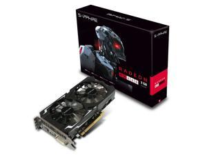 SAPPHIRE Radeon RX 460 11257-00-20G 2GB 128-Bit GDDR5 PCI Express 3.0 x16 CrossFireX Support Video Card