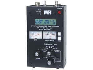 MFJ-269C HF/VHF/UHF antenna analyzer w/meters