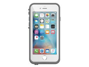 """Lifeproof FRE SERIES iPhone 6/6s Waterproof Case (4.7"""" Version) - Retail Packaging - AVALANCHE (BRIGHT WHITE/COOL GRAY) 77-52564"""