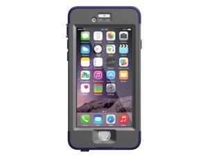 """LifeProof NUUD iPhone 6 ONLY Waterproof Case (4.7"""" Version) - Retail Packaging - NIGHT DIVE BLUE (DARK GRAY/DARK BLUE)77-51277"""