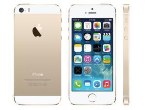 "Apple iPhone 5s 16GB Gold 16GB Factory Unlocked GSM Certfied Refurbished Phone 4.0"" 1GB RAM DDR3 RAM"