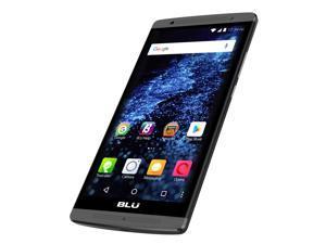BLU Studio XL LTE S0190UU Unlocked GSM 4G LTE Quad-Core Android Phone w/ 8MP Camera - Black