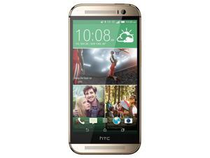 HTC One M8 32GB Sprint 4G LTE Octa-Core Android Phone w/ Dual 4MP Camera - Gold
