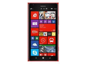 Nokia Lumia 1520 RM-940 16GB AT&T Unlocked 4G LTE Quad-Core Windows Phone w/ 20MP Camera - Red