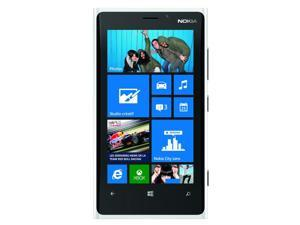 Nokia Lumia 920 RM-820 32GB AT&T Unlocked GSM 4G LTE Windows 8 Phone - White