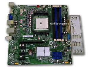 Gateway DX4380 Desktop Motherboard with I/O Shield   uATX   AMD FM2   A75   AAHD3-VC   DB.GEG11.001