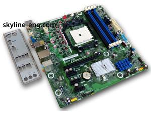 Gateway DX4380 DX4380G Desktop Motherboard   AMD FM2 A75   uATX micro-ATX     with I/O Shield   AAHD3-VC Rev:1.02   DBGDF11002 DB.GDF11.002