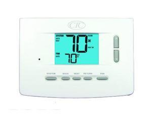 Supco 73200N Wall Thermostat, Up to 3 Heat/2 Cool Heat Pump Systems, Up to 2 ...