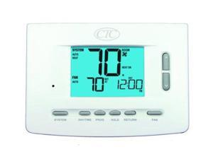 Supco 73257P Wall Thermostat, 5/2 and 7 Day or Non Programmable, Up to 3 Heat...