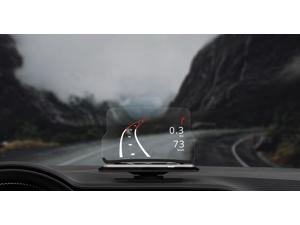 HUDWAY Glass is a universal vehicle accessory turning your smartphone into a head-up display (HUD) for any car bringing comfort and safety to drivers
