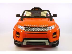 Range Rover Style 12V Kids Ride-On Toy Car MP3 Battery Powered LED Wheels RC Remote | Orange