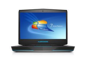 "Dell Alienware Core i5-4200M Dual-Core 2.5GHz 8GB 500GB GeForce GT 750M DVD±RW 14"" Full HD Notebook W7HP"
