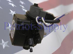 Suntec A2VA-3006 Oil Pump With 115V Solenoid Valve 3450 RPM, 4 GPH @ 100 PSI