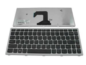 New Laptop Keyboard for IBM Lenovo IdeaPad U410 P/N:25-203730 T3C1-US 25208924 AELZ8U01110 9Z.N7GSQ.401 NSK-BC4SQ AELZ8U00210 MP-11K93US-6862 US Black color