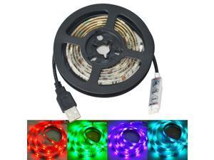 Jiawen USB 30-SMD 5050 RGB LED Waterproof Light Strip (DC 5V / 1m )