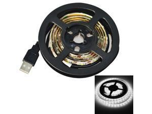 Jiawen USB 60-SMD3528 cool white 1M LED Waterproof Strip Light