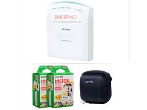 FUJIFILM INSTAX SHARE SMARTPHONE PRINTER SP 1 WITH 40 SHOTS AND CASE KIT