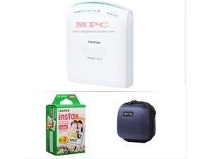 FUJIFILM INSTAX SHARE SMARTPHONE PRINTER SP 1 WITH 20 SHOTS AND CASE(BLUE) KIT