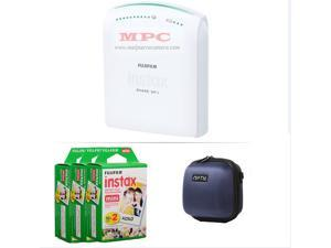 FUJIFILM INSTAX SHARE SMARTPHONE PRINTER SP 1 WITH 60 SHOTS AND CASE(BLUE) KIT