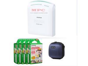 FUJIFILM INSTAX SHARE SMARTPHONE PRINTER SP 1 WITH 80 SHOTS AND CASE(BLUE) KIT