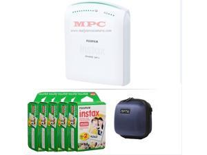 FUJIFILM INSTAX SHARE SMARTPHONE PRINTER SP 1 WITH 100 SHOTS AND CASE(BLUE) KIT