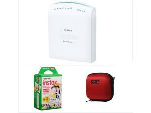 FUJIFILM INSTAX SHARE SMARTPHONE PRINTER SP 1 WITH 20 SHOTS AND CASE(RED) KIT