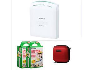 FUJIFILM INSTAX SHARE SMARTPHONE PRINTER SP 1 WITH 40 SHOTS AND CASE(RED) KIT
