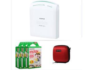 FUJIFILM INSTAX SHARE SMARTPHONE PRINTER SP 1 WITH 60 SHOTS AND CASE(RED) KIT