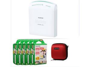 FUJIFILM INSTAX SHARE SMARTPHONE PRINTER SP 1 WITH 100 SHOTS AND CASE(RED) KIT
