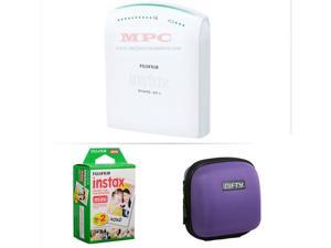 FUJIFILM INSTAX SHARE SMARTPHONE PRINTER SP 1 WITH 20 SHOTS AND CASE(PURPLE) KIT