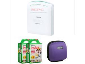 FUJIFILM INSTAX SHARE SMARTPHONE PRINTER SP 1 WITH 40 SHOTS AND CASE(PURPLE) KIT