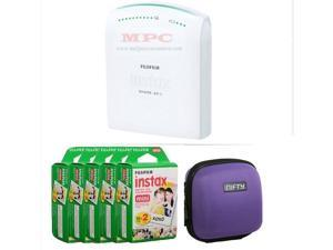FUJIFILM INSTAX SHARE SMARTPHONE PRINTER SP 1 WITH 100 SHOTS AND CASE(PURPLE) KIT