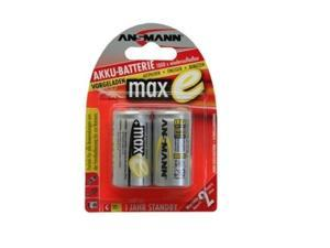Maxe Precharged, Low Self Discharge Rechargeable Battery. Blister Pack Of Two C