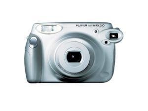 Fujifilm Instax 210 Instant Camera Wide Picture Format Silver- Special Wedding Edition - Includes Close Up Lens 45cm