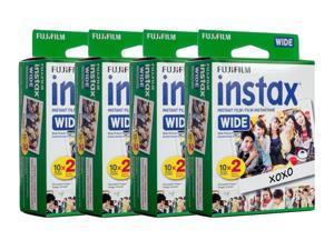Fujifilm instax Wide Instant Film (2 x Twin Packs)  (80 Films)