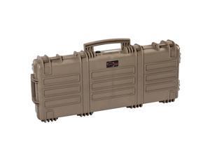 Explorer Cases 11413 Gun Case with Foam, Desert Tan, Large
