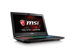 "XOTIC MSI GT62VR Dominator 078 - 15.6"" G-Sync Gaming Laptop - Intel Core i7-6700HQ GTX1060 16GB DDR4 128GB SSD 1TB HDD Win10 VR Ready - HTC Vive Compatible"