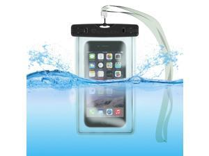 Waterproof Case Bag: Stalion® Sports Universal Water Safe Pouch (Jet Black) for All iPhone 6 6s Plus Samsung Galaxy S7 S6 Edge+ Note 5 iPod Touch HTC One M9 and other smartphones