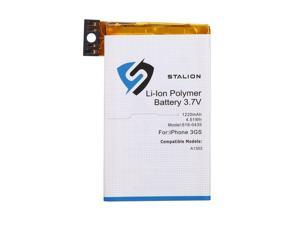 iPhone 3GS Battery : Stalion® Strength Replacement Li-Ion Polymer Battery 1220mAh 3.7V for iPhone 3GS [24-Month Warranty](Compatible with AT&T GSM Model A1303)
